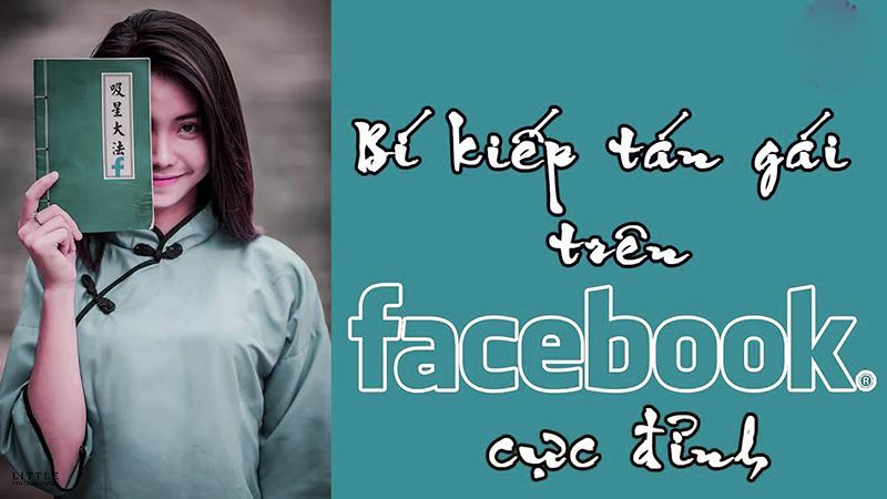 Cách tán gái qua facebook