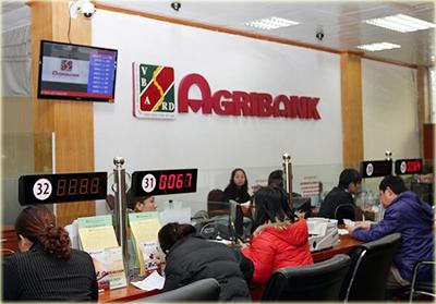 Giờ làm việc của Agribank
