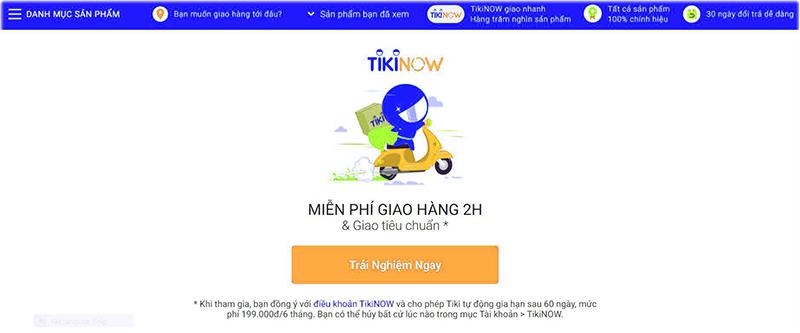Tikinow là gì? Chỉ cách đăng ký giao hàng nhanh và free nữa