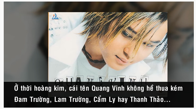 Chinh phục con đường ca hát chuyên nghiệp của Quang Vinh