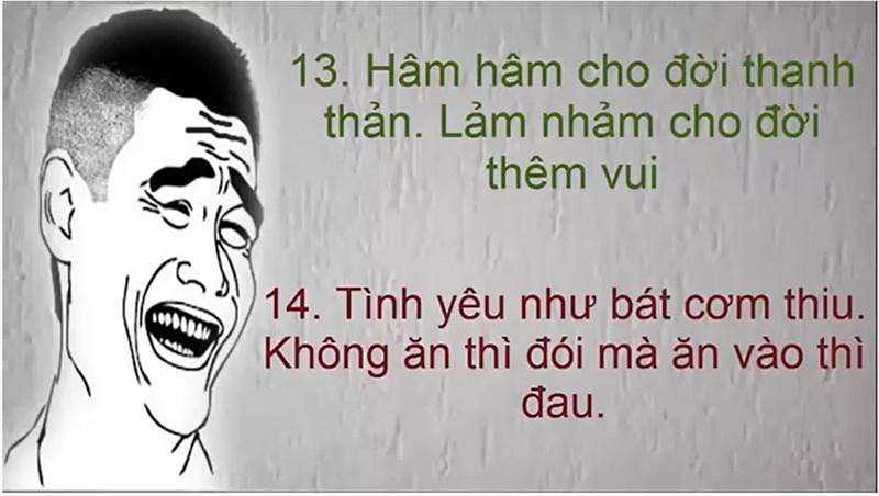 Câu nói hài hước giúp cuộc sống đầy thú vị