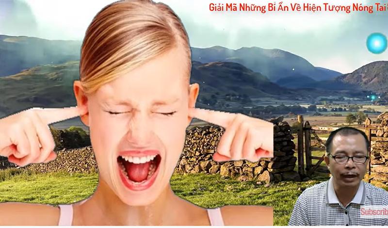 Nóng tai trái là điềm báo gì?